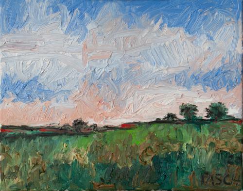Landschaft VII
