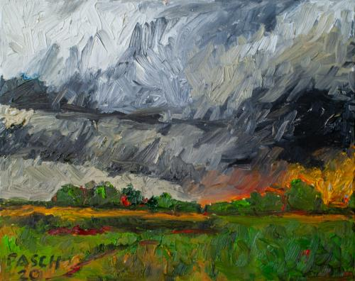 Landschaft VIII
